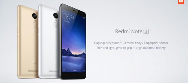 Lebih Detail dengan Xiaomi Redmi Note 3: Harga dan Spesifikasi Lengkap er