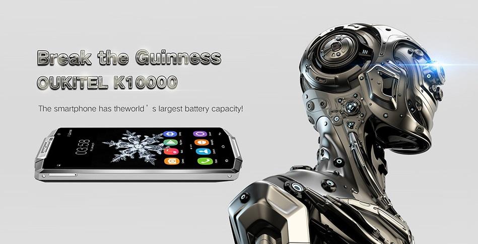 Oukitel K10000: Phablet HexaFace dengan Batere 10000 mAh dan Powerbank s