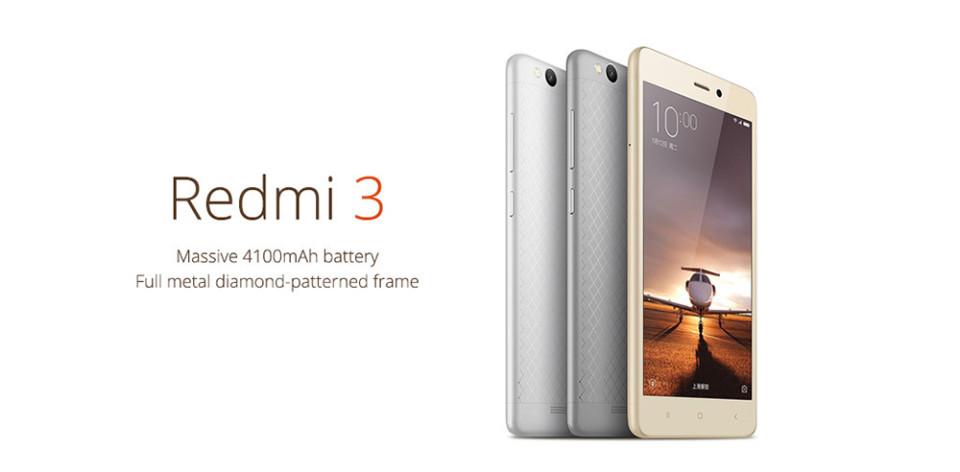Xiaomi Redmi 3 versi Internasional dengan Bodi Metal: Harga dan Spesifikasi s