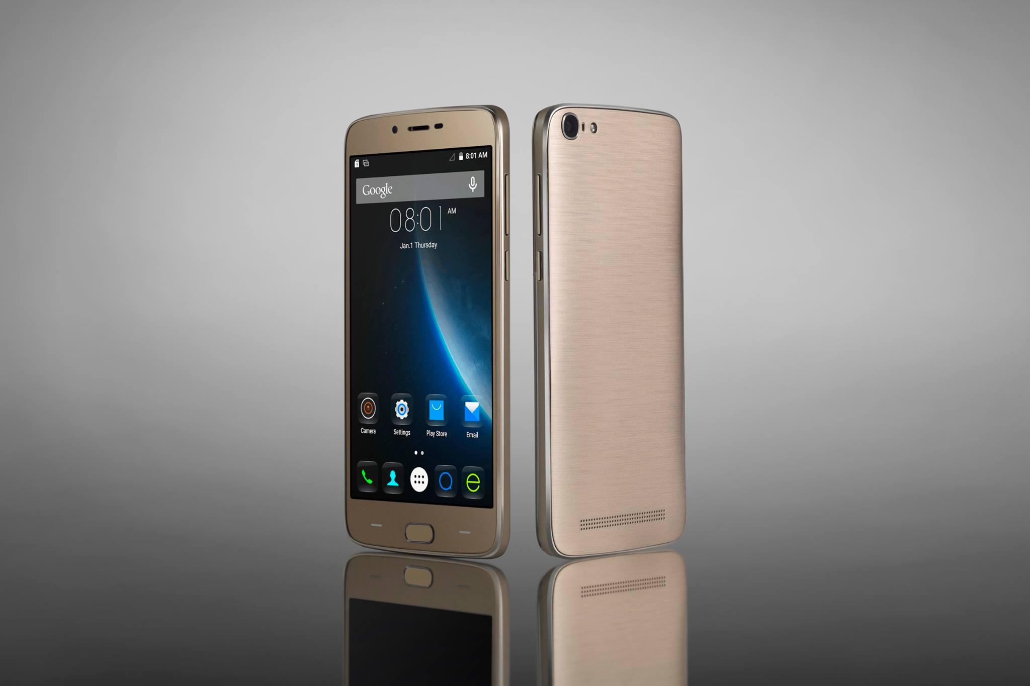 Doogee Y200 dengan Warna Emas dan Android 6: Harga Turun w3