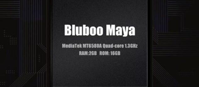 Tampilan Perdana Smartphone Bluboo Maya dengan RAM 2GB ewe