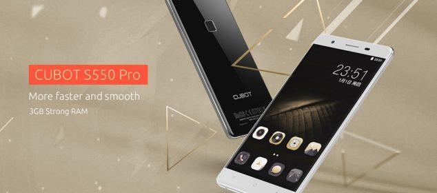 Harga dan Spesifikasi Cubot S550 Pro: Phablet RAM 3GB Murah ds