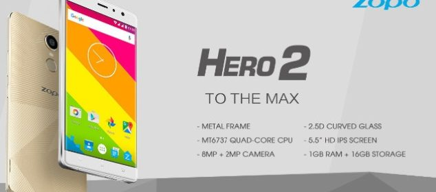Zopo Hero 2: Phablet Murah dengan Fingerprint dan MT6737 ds
