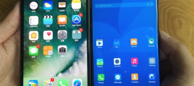 Adu Desain: iPhone 7 Plus VS Elephone R9 VS Elephone S7 d
