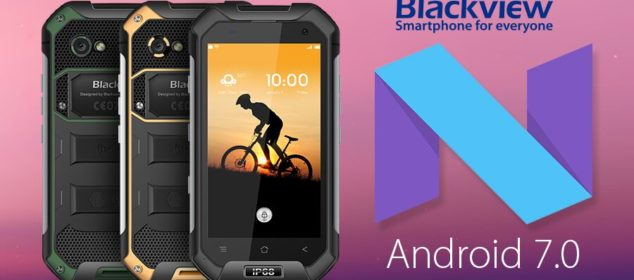 Blackview BV6000 dapat Update Android 7.0 Nougat pada November 2016 f