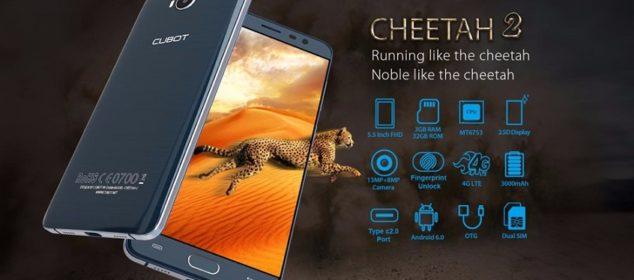 Cubot Cheetah 2 dirilis: RAM 3GB dan USB Tipe-C Harga Murah 2