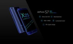 Elephone S7 Treasure Edition dengan Helio x25 Ungkap Detail Lebih d