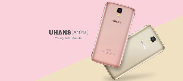 Harga dan Spesifikasi Uhans A101s dengan RAM 2GB 3