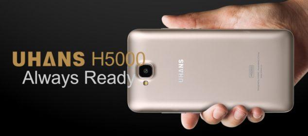 Uhans H5000 dirilis: RAM 3GB, Batere 4500 mAh Harga Cuma 1,5 Juta s
