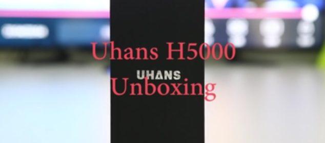 Unboxing Resmi Uhans H5000: Smartphone Batere Besar d