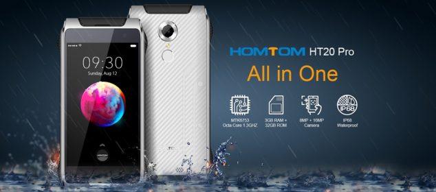Homtom HT20 Pro dirilis: Rugged IP68 RAM 3GB cuma 1,7 Juta saja 1
