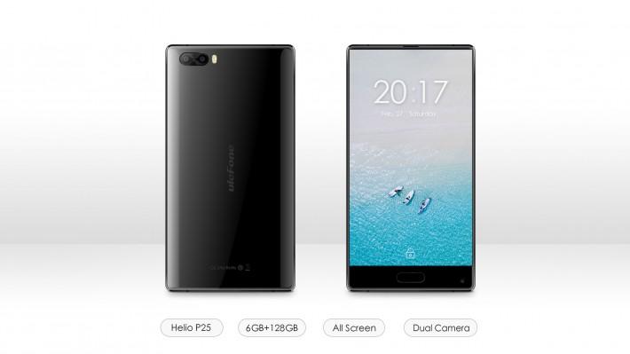 Saingan Xiaomi Mix!!: Ulefone F1 dengan Triple Bezel-Less dan Dual Kamera 1