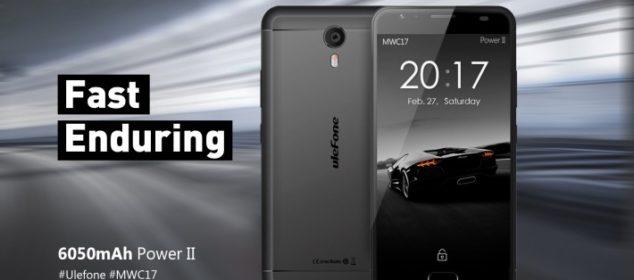 Ulefone Power 2 bakal Punya RAM 4GB dan sudah Android 7 1