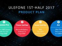 Ulefone juga Umumkan 4 Produk baru Di 2017: RAM 6GB dan Android 7 1