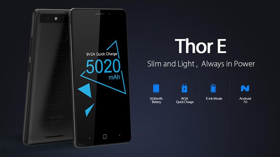 Vernee Thor E dirilis: Batere 5020 mAh tapi Super Tipis dan Ringan 1