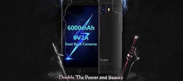 Gretel GT6000 dirilis: Smartphone Batere 6000 mAh Termurah 1