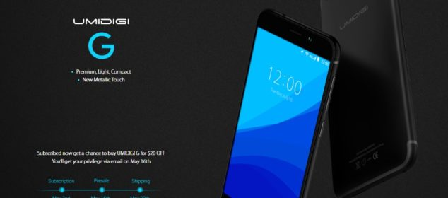 Umidigi G: Desain iPhone 7 dengan RAM 2GB, Fingerprint, Harga Sejuta 5