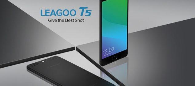 Smartphone Flaship Leagoo T5 Diperkenalkan: RAM 4GB Harga Murah!! 1