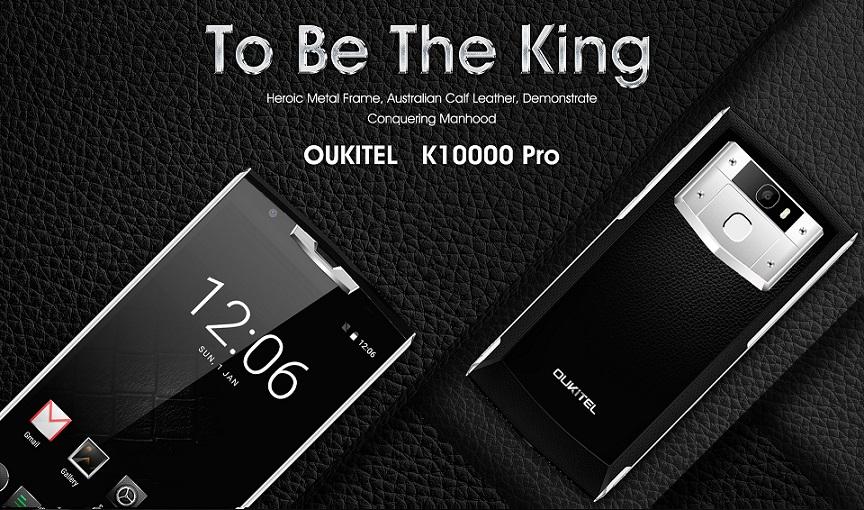 Oukitel K10000 Pro dengan RAM 3GB Resmi Dijual: Harga dan Spesifikasi 1