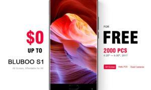 Bagi-bagi Gratis: Smartphone Flagship Bluboo S1 Sebanyak 2000 Unit 1