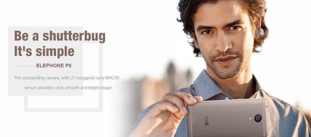 Elephone P8: Phablet RAM 6GB Keren dengan Kamera 21MP 9