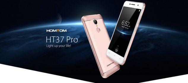 Homtom HT37 Pro 4G: Smartphone Unik RAM 3GB Harga Cuma 1,2 Juta 1