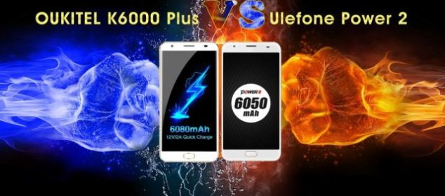 Serangan Balik: Oukitel K6000 Plus VS Ulefone Power 2 df