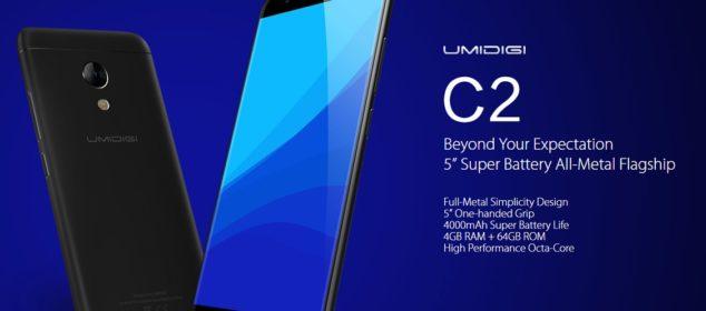Umidigi C2 dirilis: Smartphone Kompak RAM 4GB, 4000mAh, 1.8 Jutaan 1
