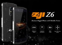 Zoji Z6 dan Zoji Z7: Duo Smartphone IP68 Murah dengan Desain Keren 5