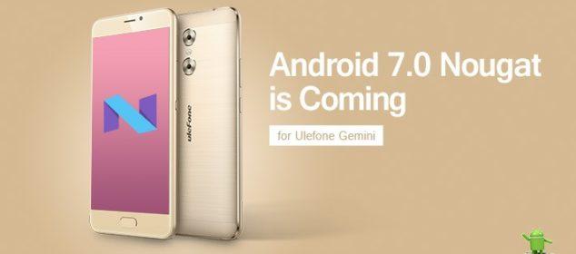 Ulefone Gemini mendapat Super Diskon dan Siapkan Update Nougat f